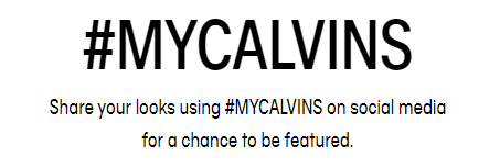 Calvin Klein's Campaign using social media hashtags