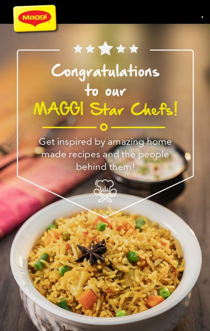 Maggi Masala star chef- maggie created user generated content
