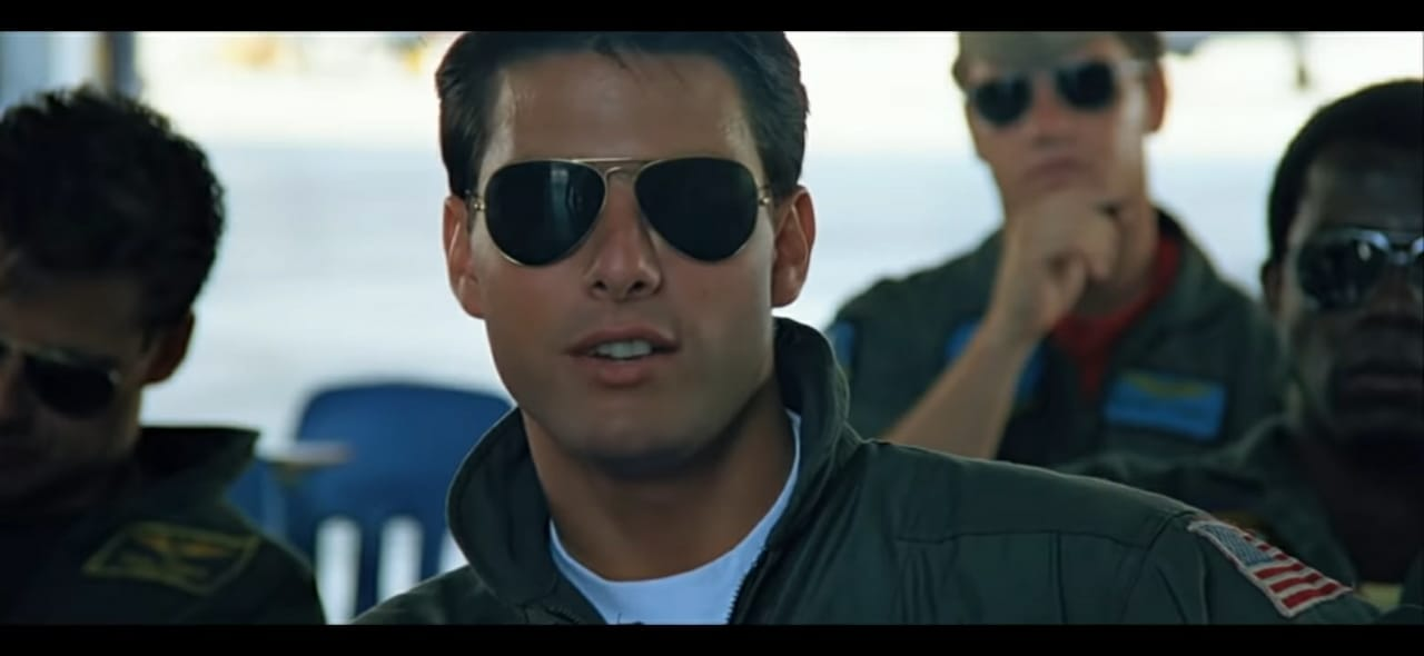 Product Placement-Ray ban in Top Gun- example of stealth marketing