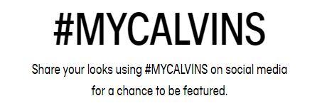 Calvin Klein hashtag campaign