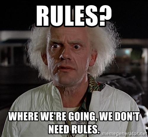 Rules for making meme