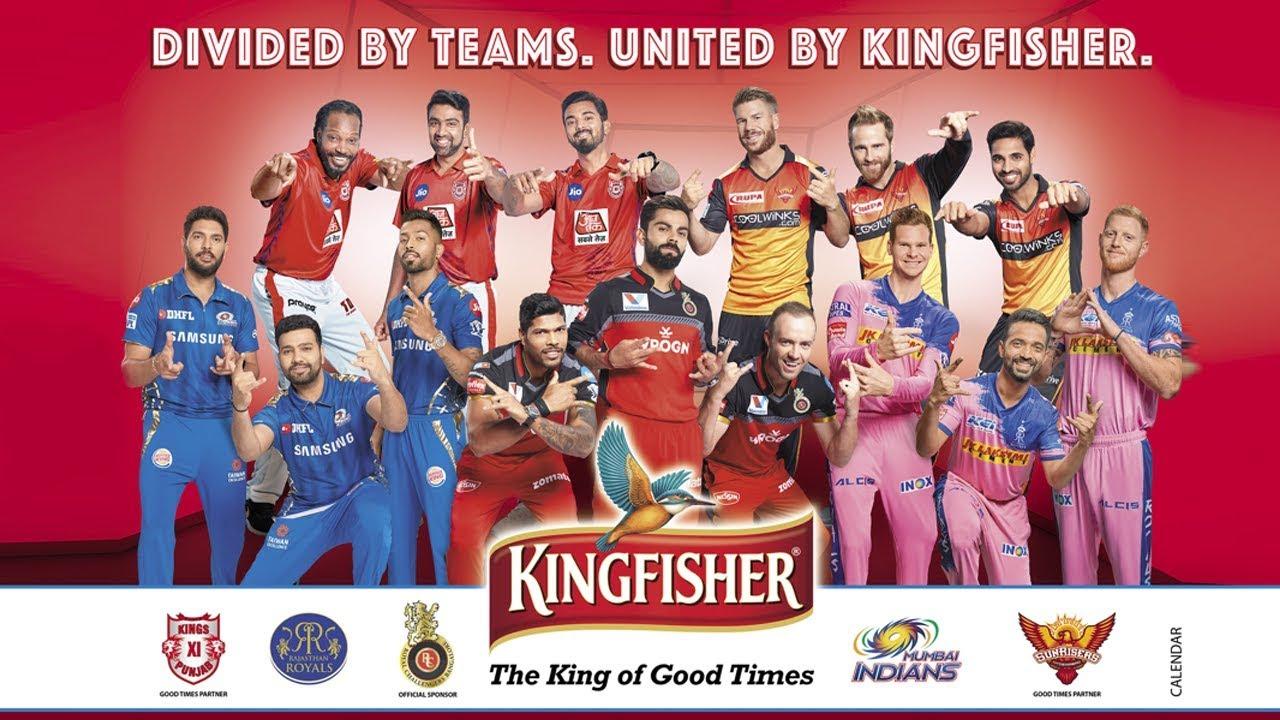Kingfisher sponsors the IPL