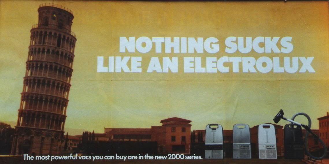 Electrolux Marketing Blunder