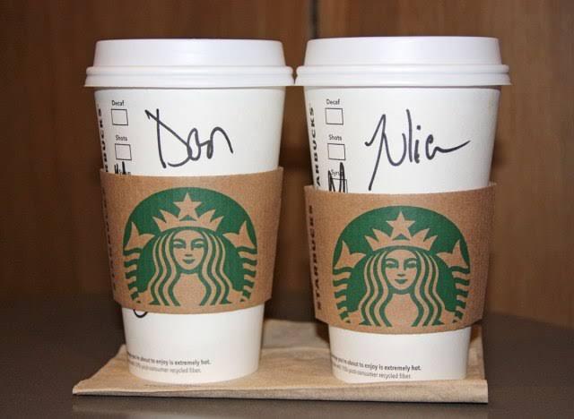 Starbucks Cup personalization method - Buzz Marketing