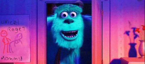 Hidden Message in Monster Inc. Movie