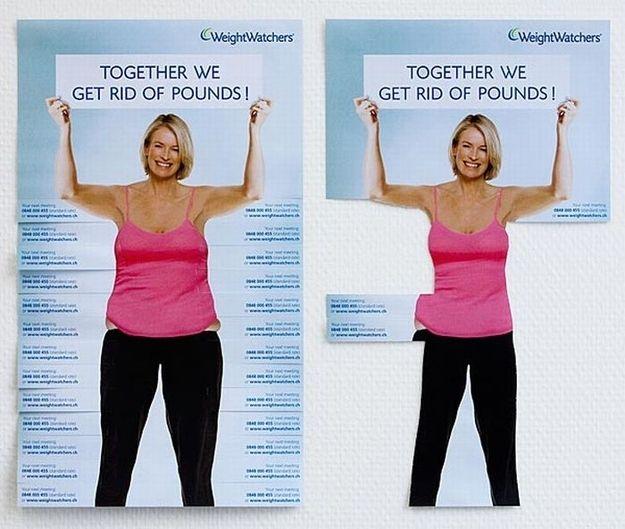 Weight Watchers flyers