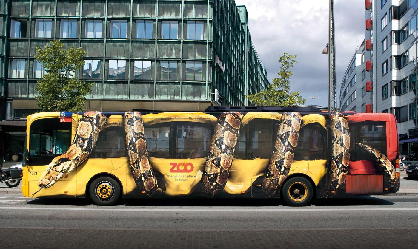Copenhagen Zoo Guerrilla Marketing