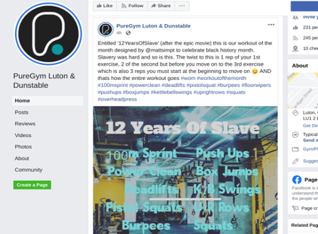 """PureGym- """"12YearsofSlave"""" Worst Ad Campaign"""