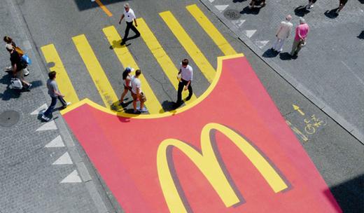 McDonald's Guerrilla Marketing example