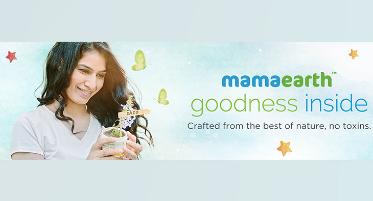 """The brand's message is """"Goodness inside"""" - Mamaearth marketing strategy"""