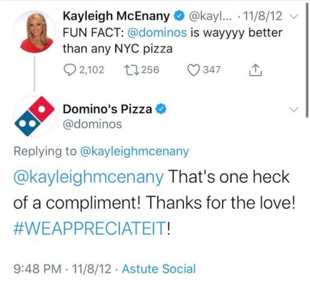 Dominos following social media marketing tactics