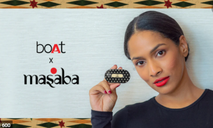 Masaba collab with Boat- Marketing Strategy Boat