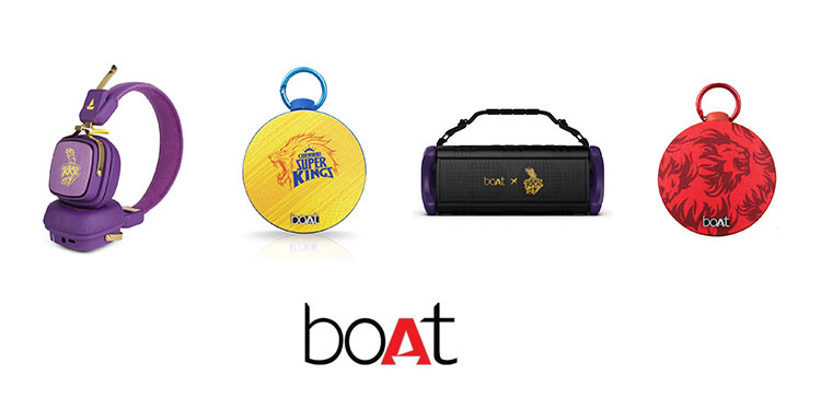 Boat collab with IPL six teams