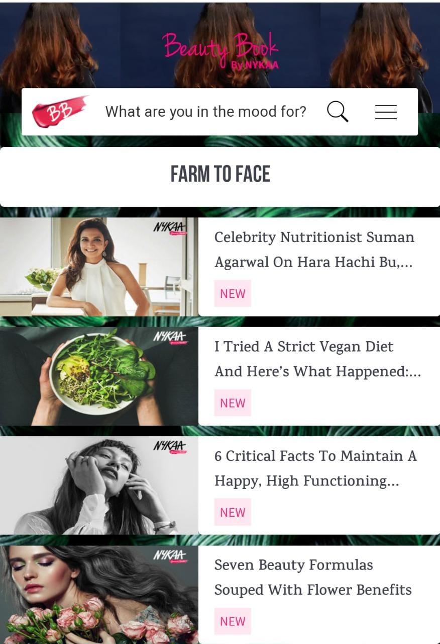 Nykaa Beauty Book Blog Content marketing Startegy