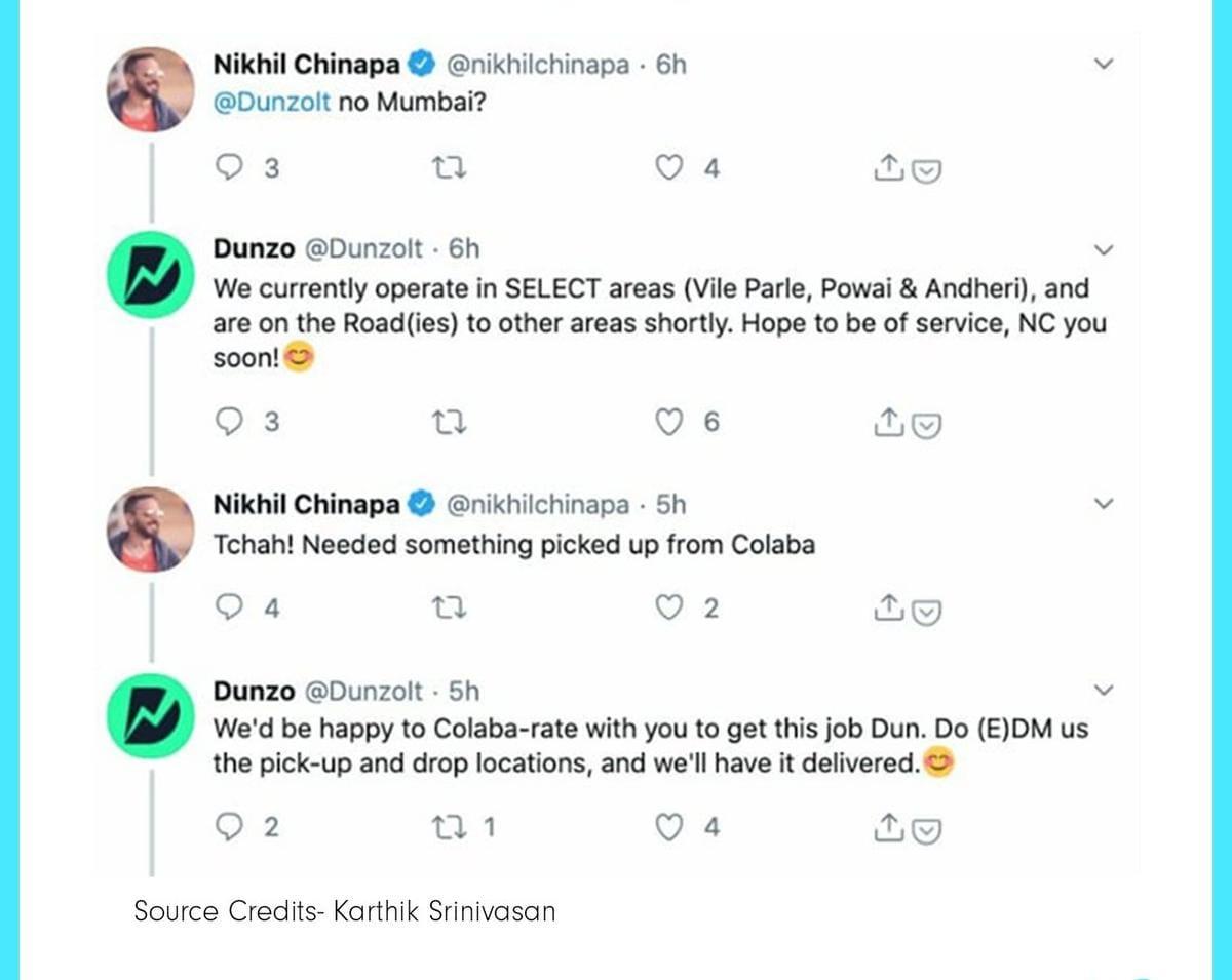 Dunzo-Twitter-Marketing-Strategy
