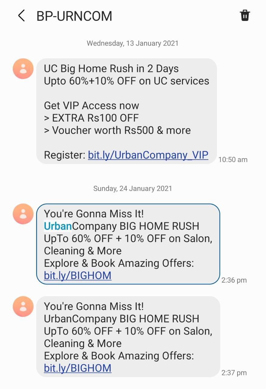 Urban-Clap-Marketing-Strategy-SMS-Marketing