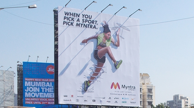 Myntra-billboard-marketing-strategy
