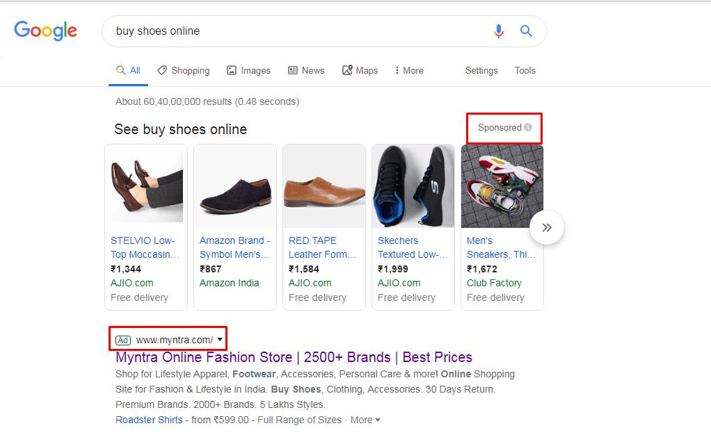 myntra-google-ads